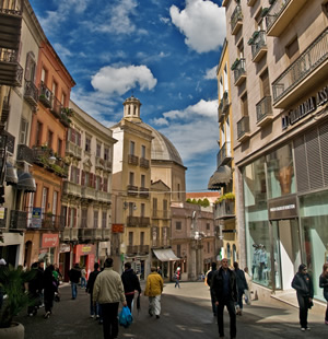 Shopping areas in Cagliari