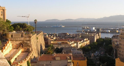Panoramic view from Bastione di Santa Croce