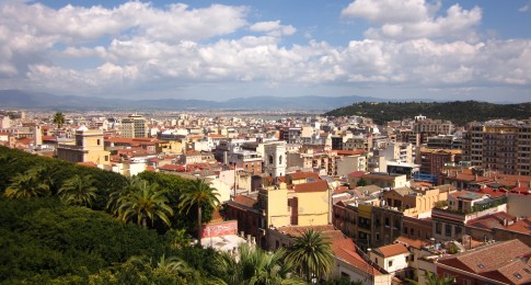 Villanova district - View from Bastione di Santa Caterina