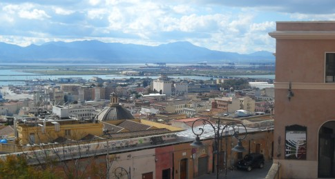 View from Bastione di Saint Remy