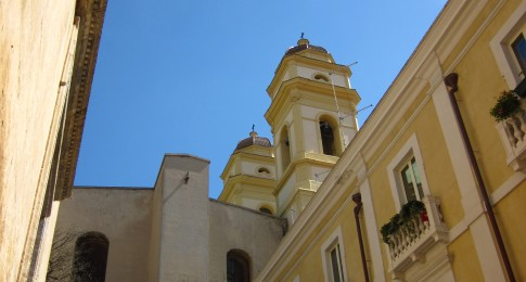 Church of Sant'Anna - View from Via Santa Restituta